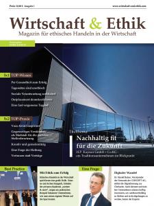 Wirtschaft & Ethik Magazincover