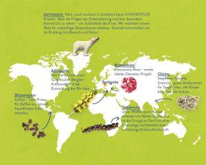 Weltkarte SONNENTOR komplett