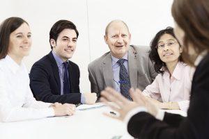Mitarbeitergespräche